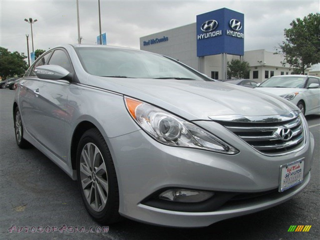 2014 hyundai sonata limited 2 0t in radiant silver 902045 autos of asia japanese and. Black Bedroom Furniture Sets. Home Design Ideas
