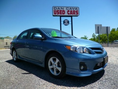 2011 Toyota Corolla S In Black Sand Pearl 548633 Autos