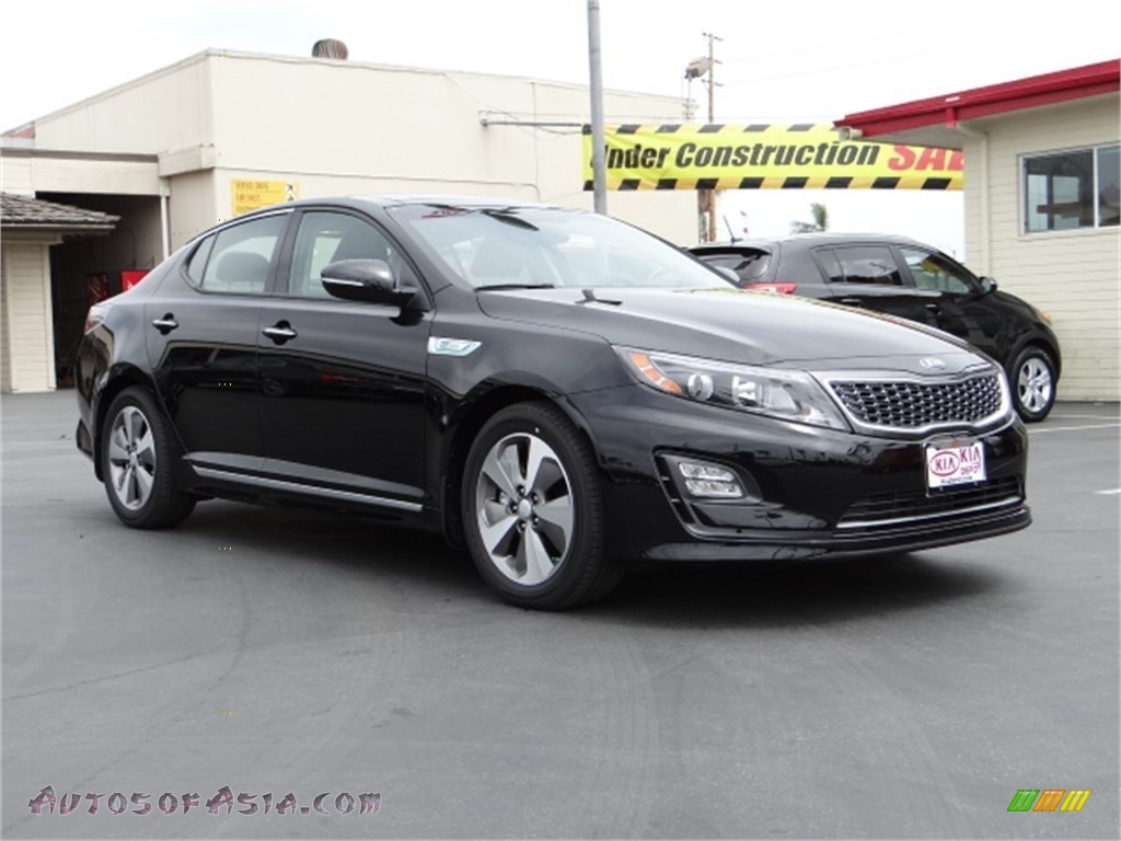 2014 kia optima hybrid ex in ebony black 067872 autos of asia japanese and korean cars for. Black Bedroom Furniture Sets. Home Design Ideas