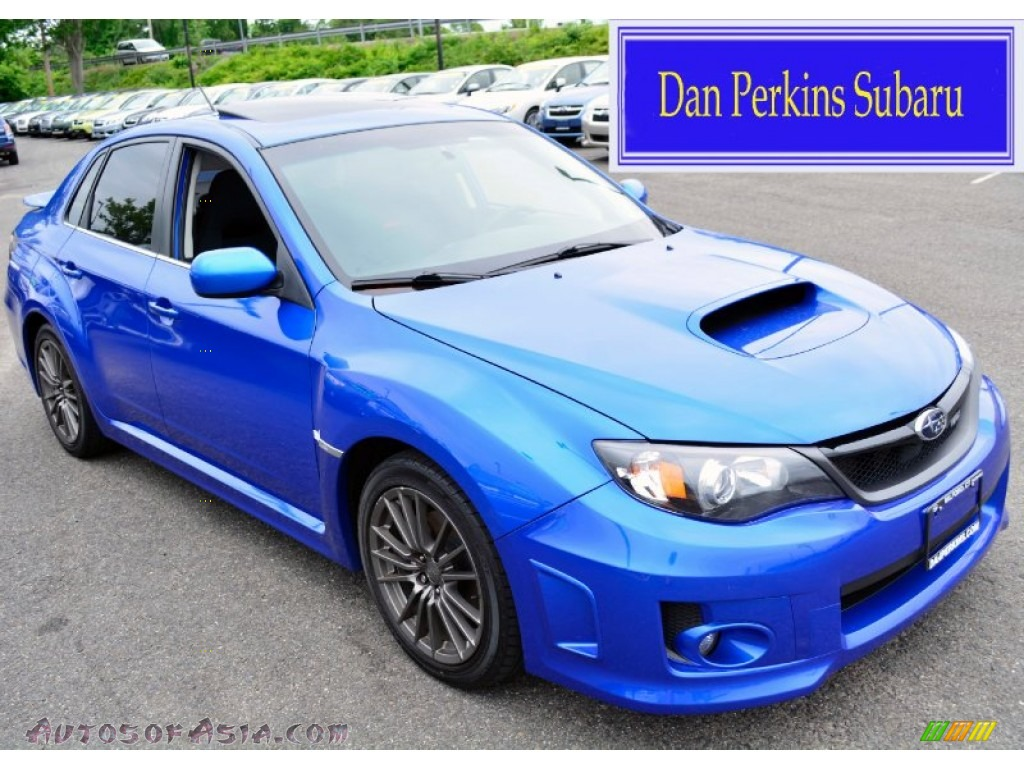 2011 subaru impreza wrx sedan in wr blue mica 525020 autos of asia japanese and korean. Black Bedroom Furniture Sets. Home Design Ideas