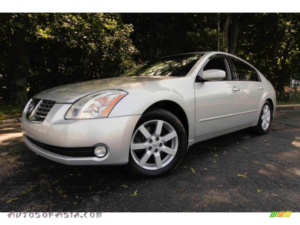 2005 nissan maxima 3 5 sl in liquid silver metallic. Black Bedroom Furniture Sets. Home Design Ideas