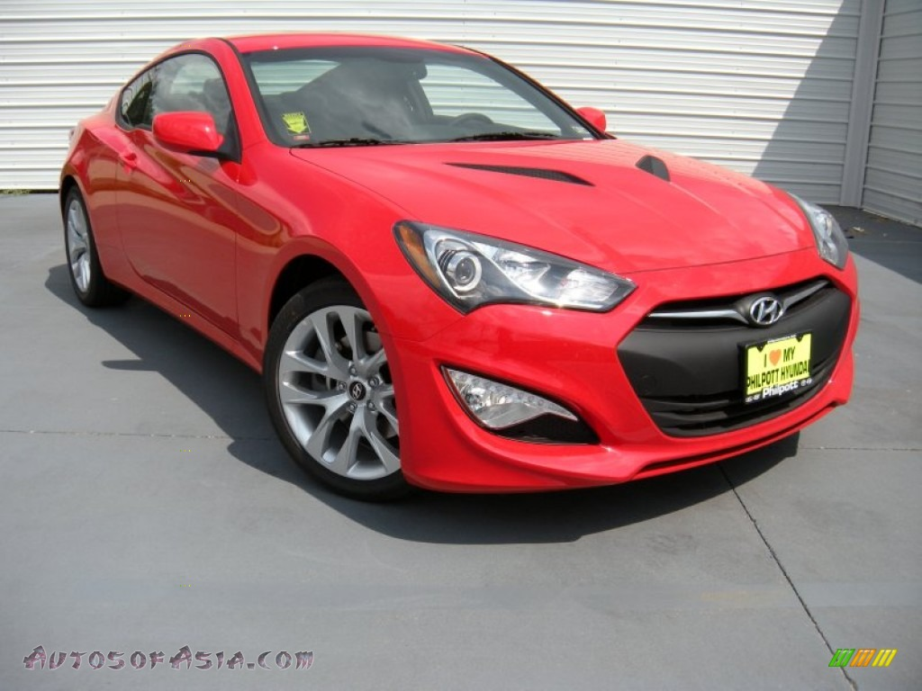 2014 hyundai genesis coupe 2 0t in tsukuba red 120880. Black Bedroom Furniture Sets. Home Design Ideas