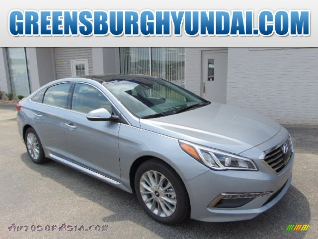 2015 Hyundai Sonata Limited In Shale Gray Metallic