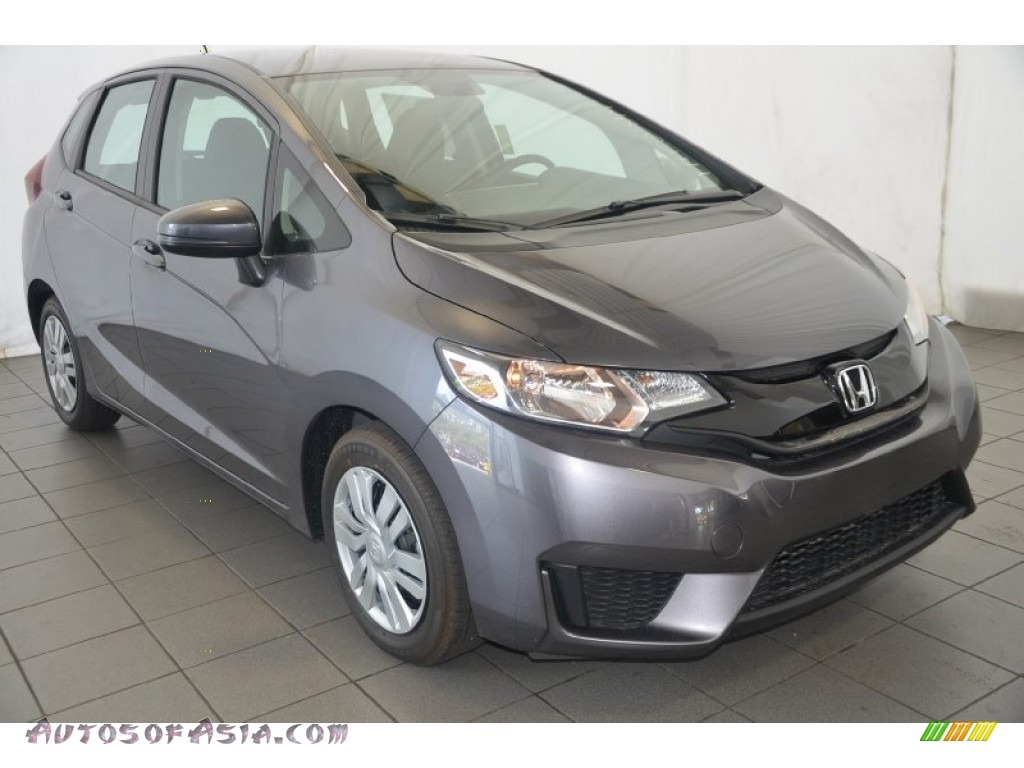 2015 Honda Fit LX in Modern Steel Metallic - 705894 | Autos of Asia - Japanese and Korean Cars ...