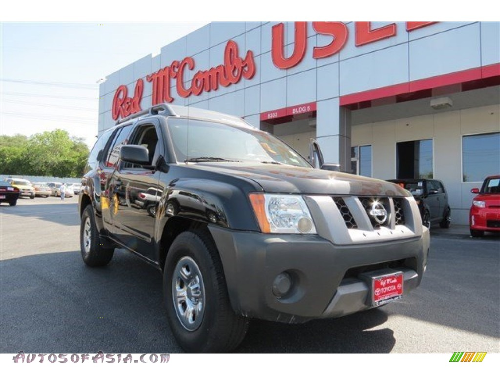 2008 Nissan Xterra S In Super Black 501608 Autos Of