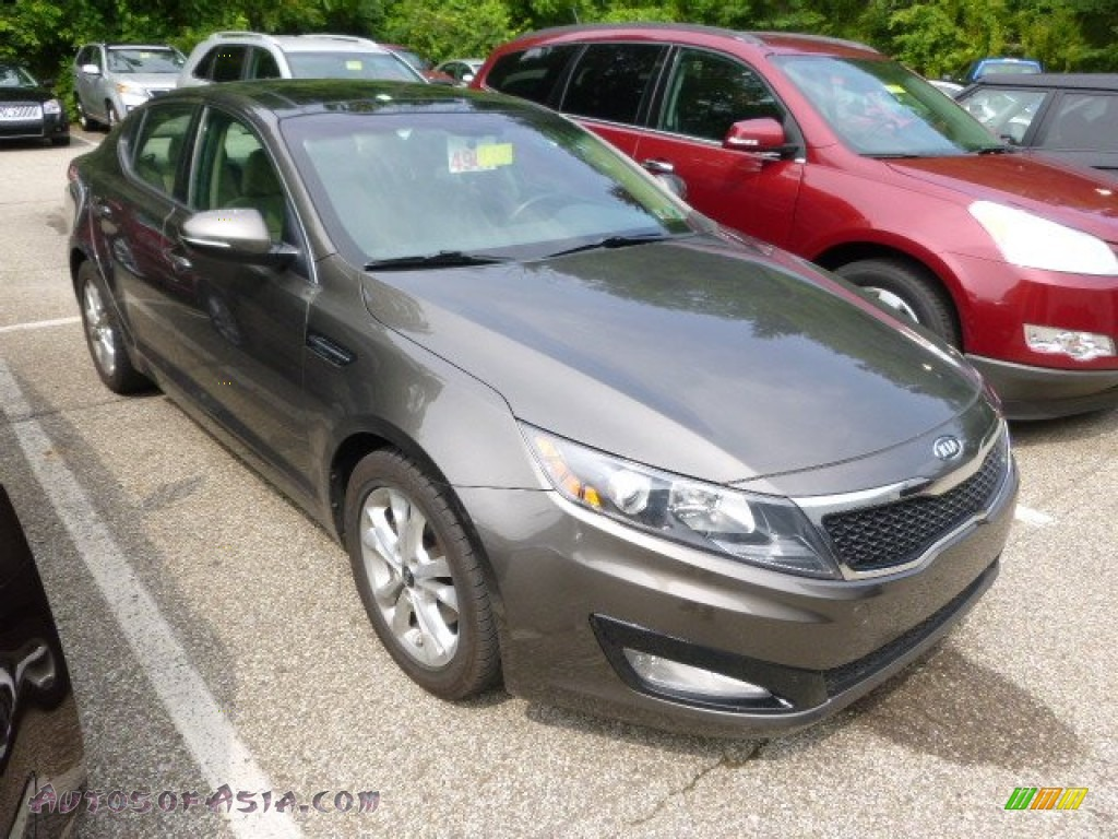 2011 kia optima ex in metal bronze 104966 autos of asia japanese and korean cars for sale. Black Bedroom Furniture Sets. Home Design Ideas