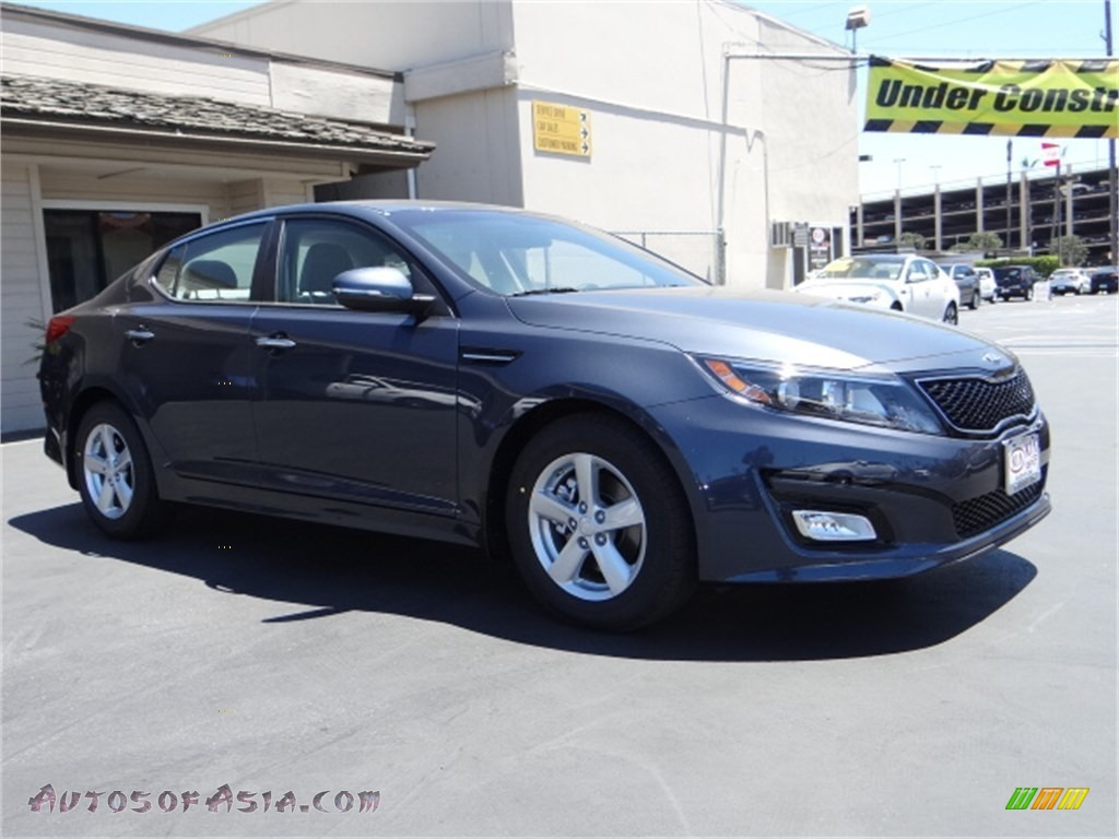 2015 Kia Optima Lx In Smokey Blue 536305 Autos Of Asia