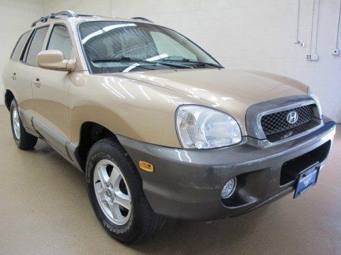 Sandstone 2004 Hyundai Santa Fe GLS 4WD