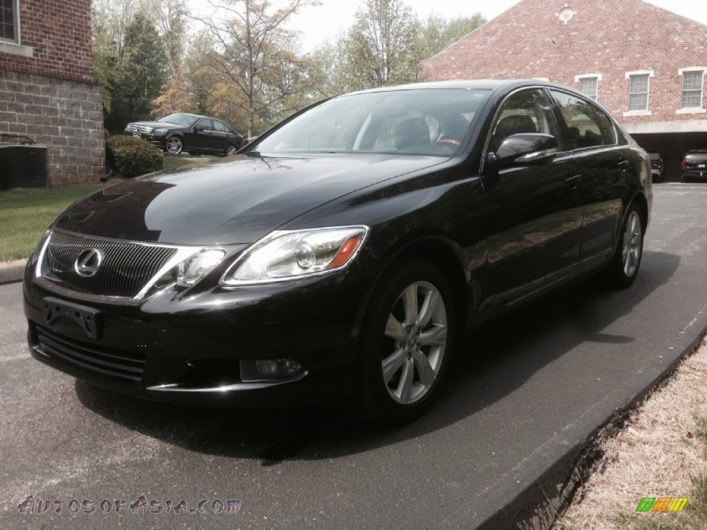 2010 lexus gs 350 awd in obsidian black 028107 autos of asia japanese and korean cars for. Black Bedroom Furniture Sets. Home Design Ideas