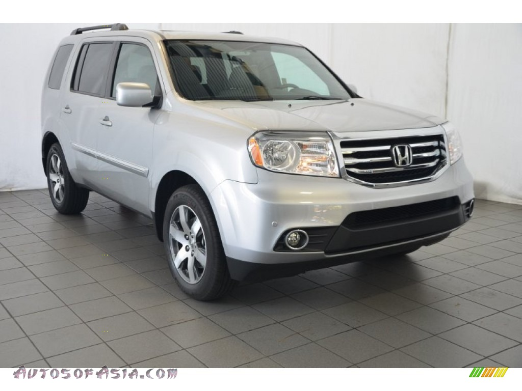 2015 honda pilot touring in alabaster silver metallic 004912 autos of asia japanese and. Black Bedroom Furniture Sets. Home Design Ideas