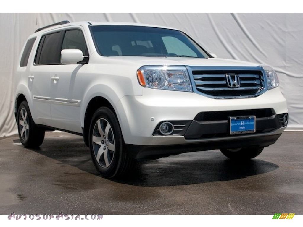 2015 honda pilot touring 4wd in white diamond pearl 013193 autos of asia japanese and. Black Bedroom Furniture Sets. Home Design Ideas