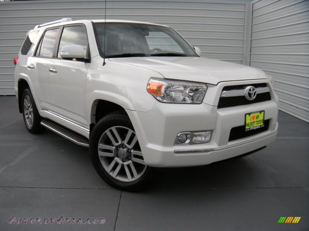 2013 toyota 4runner limited 4x4 in blizzard white pearl 121262 autos of asia japanese and. Black Bedroom Furniture Sets. Home Design Ideas