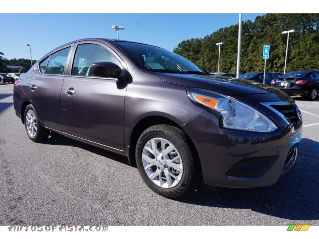 2015 nissan versa 1 6 sv sedan in amethyst gray photo 7. Black Bedroom Furniture Sets. Home Design Ideas