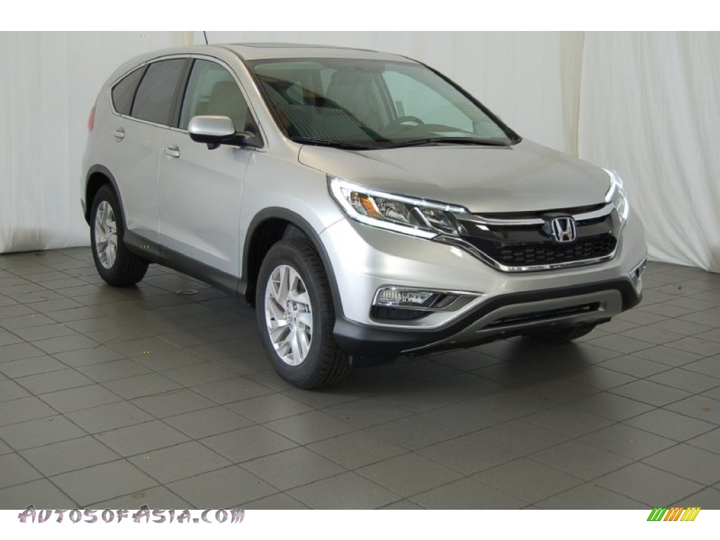 2015 honda cr v ex in alabaster silver metallic 501177 autos of asia japanese and korean. Black Bedroom Furniture Sets. Home Design Ideas