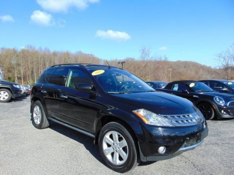 Super Black 2007 Nissan Murano SL AWD