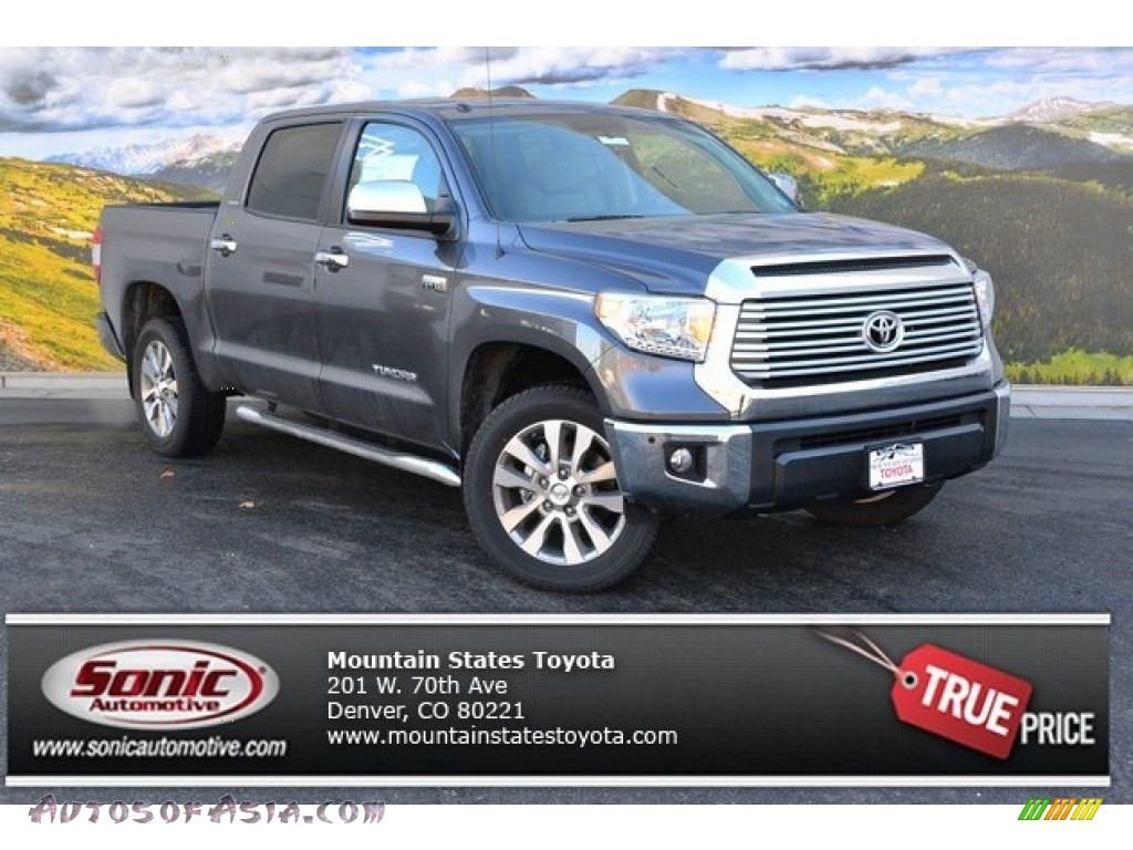 2015 toyota tundra limited crewmax 4x4 in magnetic gray metallic 425506 autos of asia. Black Bedroom Furniture Sets. Home Design Ideas